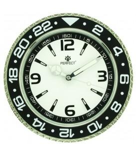 Zegar ścienny analogowy Perfect RX001 Biały