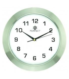 Zegar ścienny analogowy Perfect N10 Biały