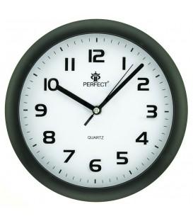 Zegar ścienny analogowy Perfect 7130 Czarny