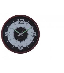 Zegar ścienny analogowy Perfect PW 217 Srebrny