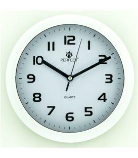 Zegar ścienny analogowy Perfect 7130 Biały