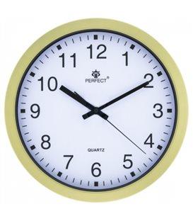Zegar ścienny analogowy Perfect FX 5799 Złoty