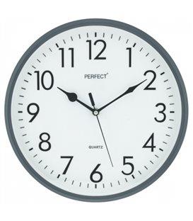 Zegar ścienny analogowy Perfect FX-5743 Grafitowy