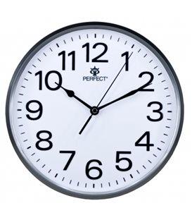 Zegar ścienny analogowy Perfect GWL 683 Grafitowy