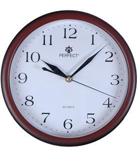 Zegar ścienny analogowy Perfect MP 17 Zielony