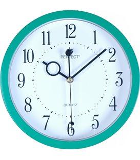 Zegar ścienny analogowy Perfect MQ 17 Zielony