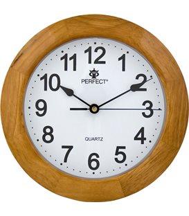 Zegar ścienny analogowy Perfect PW 994 Lakierowany(NEW)
