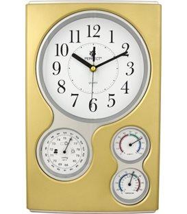 Zegar ścienny analogowy Perfect QG 17 Złoty