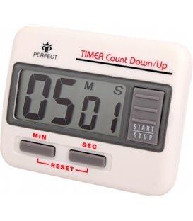 Minutnik LCD Perfect TM 86 Biały