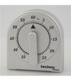 Minutnik analogowy KT 200 Srebrny