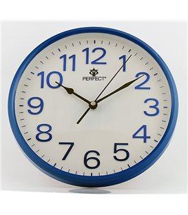 Zegar ścienny analogowy Perfect GWL 683 Niebieski