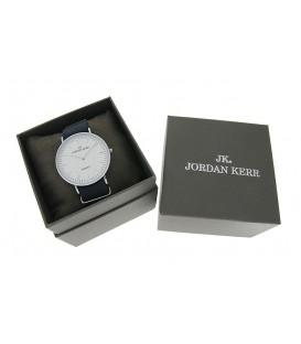 Pudełko Jordan Kerr srebrny napis