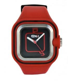 Zegarek naręczny Oceanic AQ958 czerwony