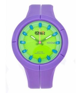 Zegarek naręczny Oceanic AQ 1008 fioletowy