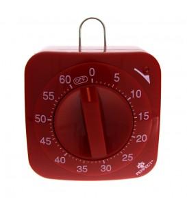 Minutnik analogowy Perfect TM 67 Czerwony
