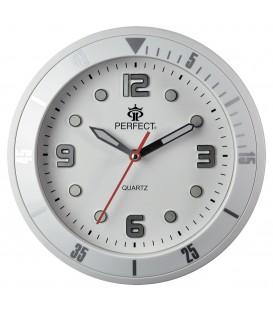 Zegar ścienny analogowy Perfect 825 Biały