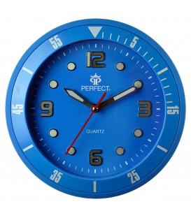 Zegar ścienny analogowy Perfect 825 Niebieski