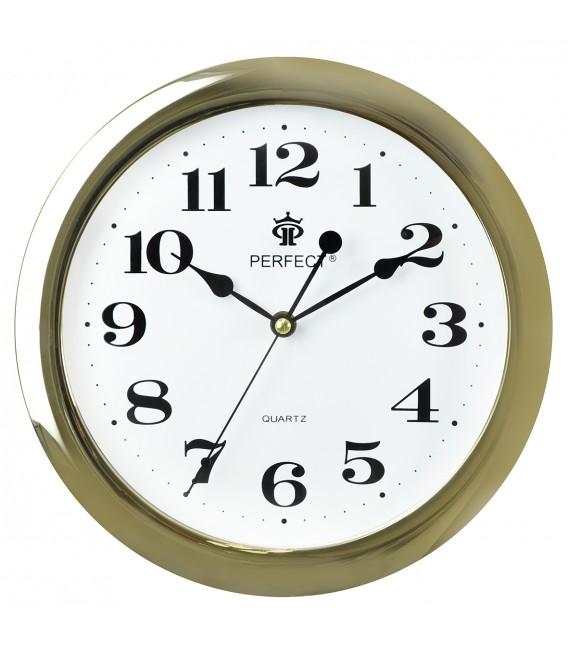 Zegar ścienny Perfect LA niebieski