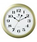 Zegar ścienny Perfect LA złoty mat