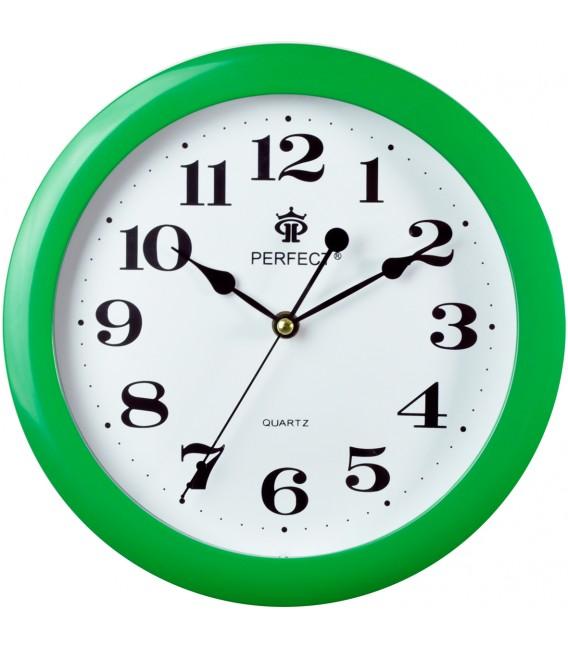 Zegar ścienny Perfect LA czerwony