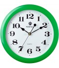 Zegar ścienny Perfect LA zielony