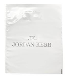 Torba papierowa Jordan Kerr srebrny napis