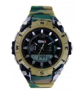 Zegarek naręczny Oceanic AD1011 MORO ZIELONE