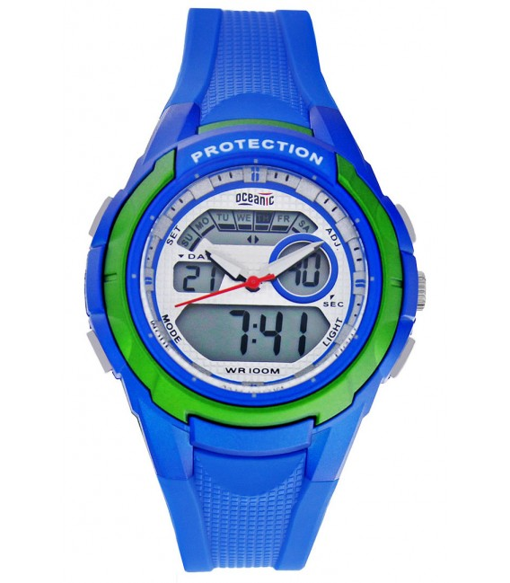 Zegarek naręczny Oceanic AD1172 CZARNY