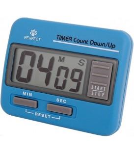 Minutnik LCD Perfect TM 86 Niebieski