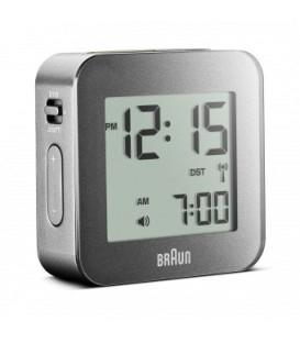 Budzik turystyczny LCD Braun BNC008WH Radio Controlled