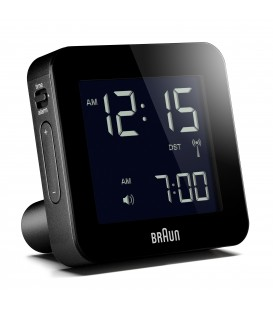 Budzik turystyczny LCD Braun BNC009WH Radio Controlled