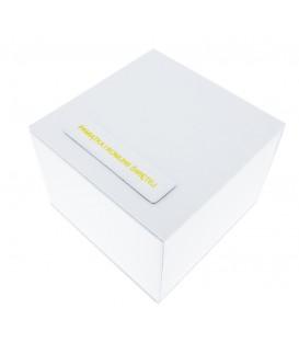 Pudełko Jordan Kerr białe z napisem Pamiątka I Komunii Świętej