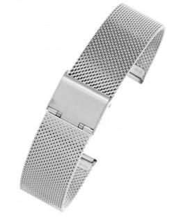 Bransoleta Siatka JK srebrna od 8-24mm - splot 0,6mm