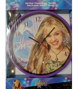 Zegar ścienny analogowy HANNAH MONTANA