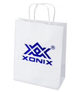 Torebka biała papierowa XONIX