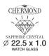 Szkła Szafirowe (grubość 1,0) rozmiar 285mm