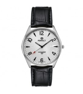 Zegarek Perfect C141 srebrny