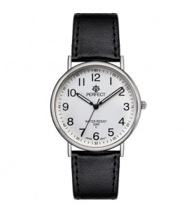 Zegarek Perfect pasek standard B7381 IPG złota tarcza brązowy pasek