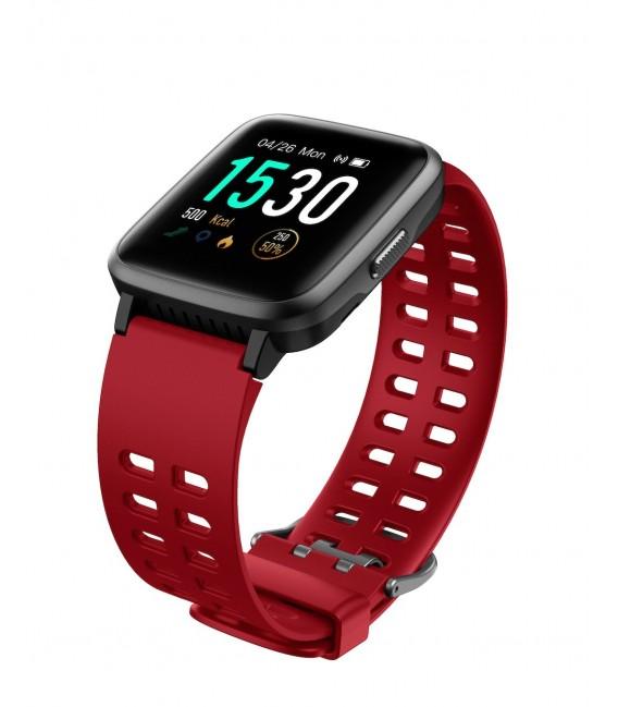 Smartwatch JK Active  JKA02 Czarno/Czerwony