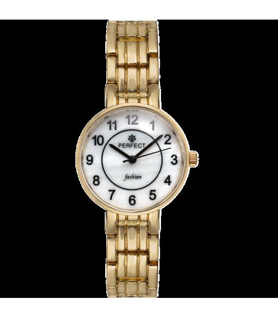 Zegarek Perfect A7001 -7 GOLD PERŁOWA TARCZA