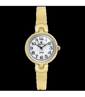Zegarek Perfect A7001-23 GOLD PERŁOWA TARCZA