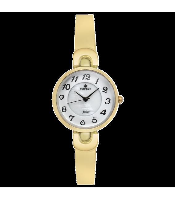 Zegarek Perfect A7001-14 GOLD PERŁOWA TARCZA