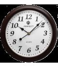 Zegar ścienny analogowy Perfect LA 17 Brązowy (połysk) Ø 28
