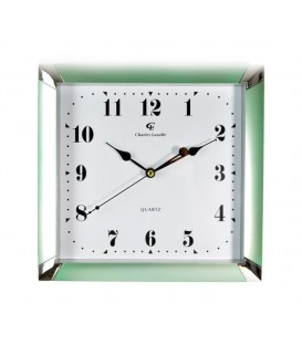 Zegar ścienny analogowy Perfect ME 17 złoty