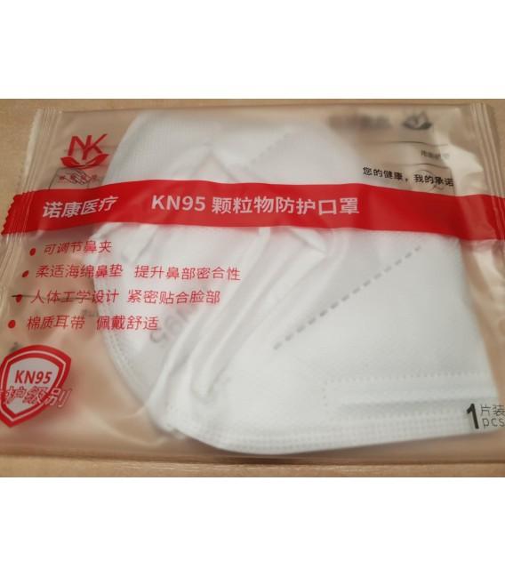 Maseczka ochronna FFP2 KN95 na twarz 4-warstwy pakowana po 10szt