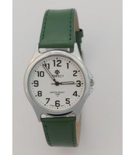 Zegarek Perfect pasek standard B7382 IPS biała tarcza czarny pasek