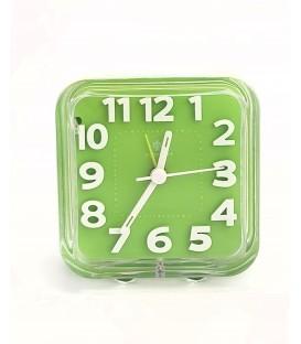 Budzik kwarcowy Perfect PT 187 zielony