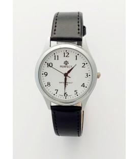 Zegarek Perfect  B7384 IPS biała tarcza czarny pasek