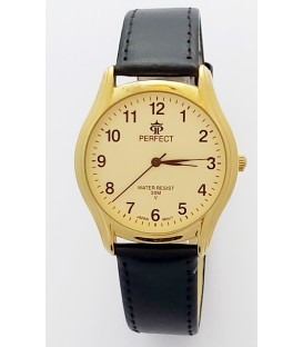 Zegarek Perfect pasek standard B7385 IPG biała tarcza czerwony pasek