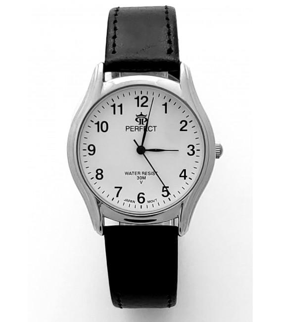 Zegarek Perfect  B7385 IPS biała tarcza zielony pasek